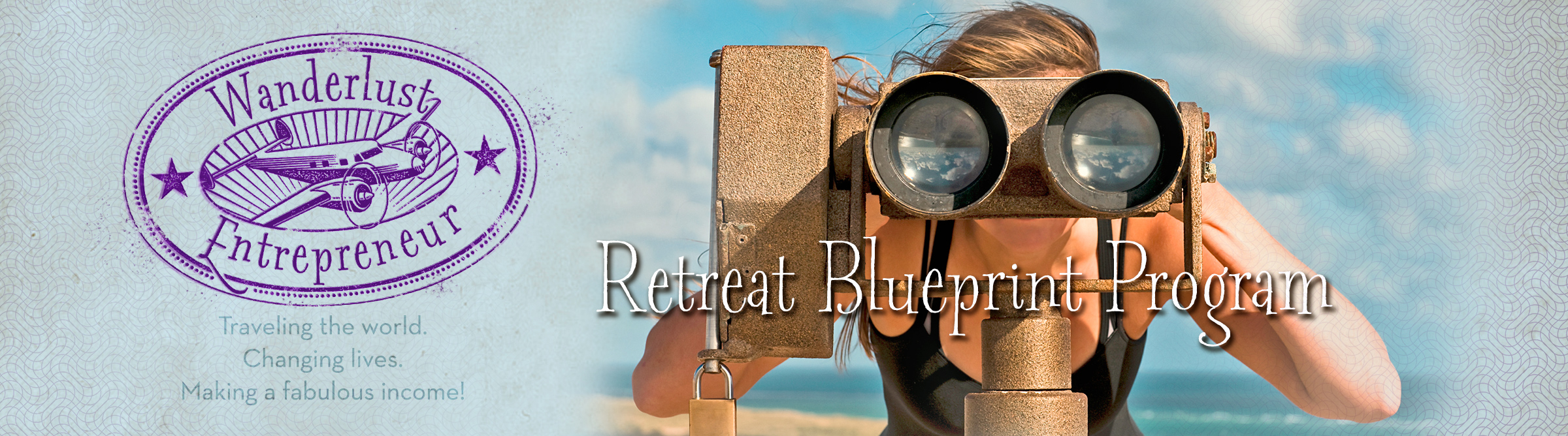 Retreat blueprint program wanderlust entrepreneur business the blueprint for creating a retreat that actually sells and that teaches you how to avoid all the pitfalls that cause most coaches authors malvernweather Images