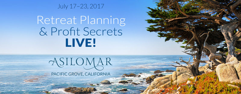 Retreat Planning & Profit Secrets LIVE!