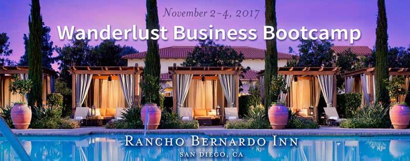 Wanderlust Business Bootcamp LIVE!